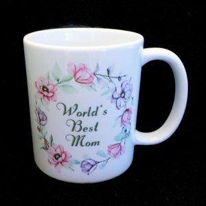 World's Best Mom Ceramic Coffee Mug